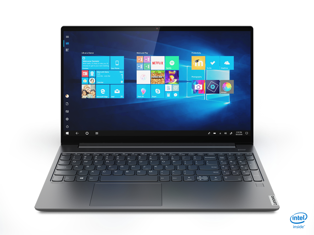"81NW0000US   $919   Lenovo S740-15IRH Core™ i7-9750H 2.6GHz 1TB SSD 16GB 15.6"" UHD (3840x2160) TOUCHSCREEN BT WIN10 Webcam NVIDIA® GTX1650 4096MB IRON GRAY Backlit Keyboard FP Reader"